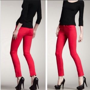 J Brand Shock Pink Jeans